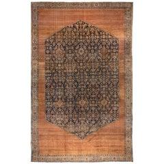 Antique Persian Bibikabad Carpet, circa 1900s