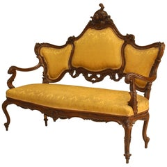 Italian Venetian Gold Living Room Set