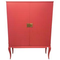 Stunning Maison Jansen style, Two-Door Cabinet