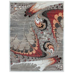 """Orley Shabahang Signature """"Synergy"""" Carpet in Pure Handspun Wool, Organic Dyes"""