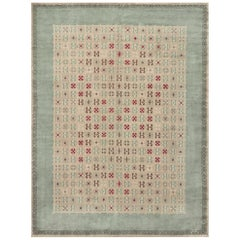 Early 20th Century French Deco Rug by Leleu