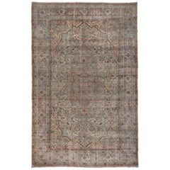 Antique Large Persian Kerman Carpet, circa 1920s