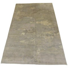 Room and Board Wool Camouflage Pattern Area Rug