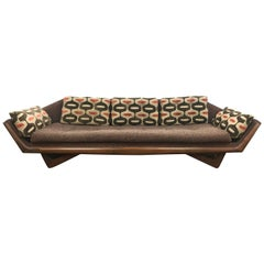 Craft Associates Adrian Pearsall Designed Famed Extra Large Gondola Sofa