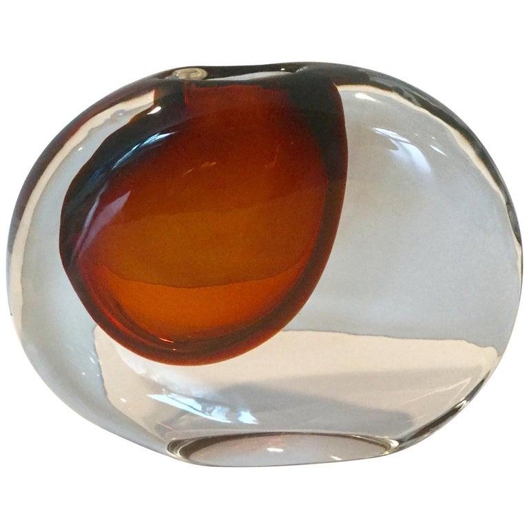 Antonio da Ros for Cenedese Murano Momento Vase For Sale