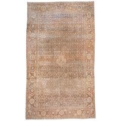 Antique Large Persian Tabriz Carpet, circa 1920s