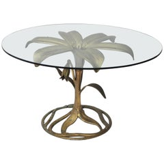 Arthur Court Dining or Center Lily Table