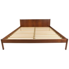 Danish Teak Queen Bed Frame