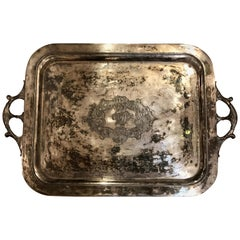 Victorian Aesthetic Movement Butlers Tray