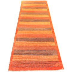"""Orley Shabahang Signature """"Color Bands"""" Carpet in Pure Wool and Organic Dyes"""