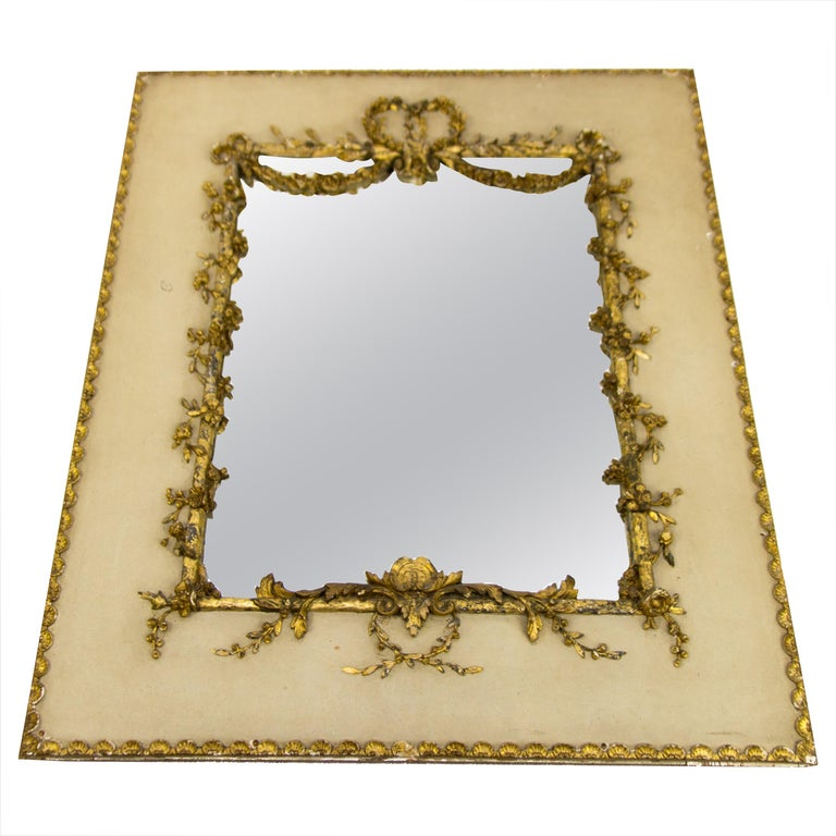 Early 20th Century Rococo Style Mirror or Picture Frame For Sale