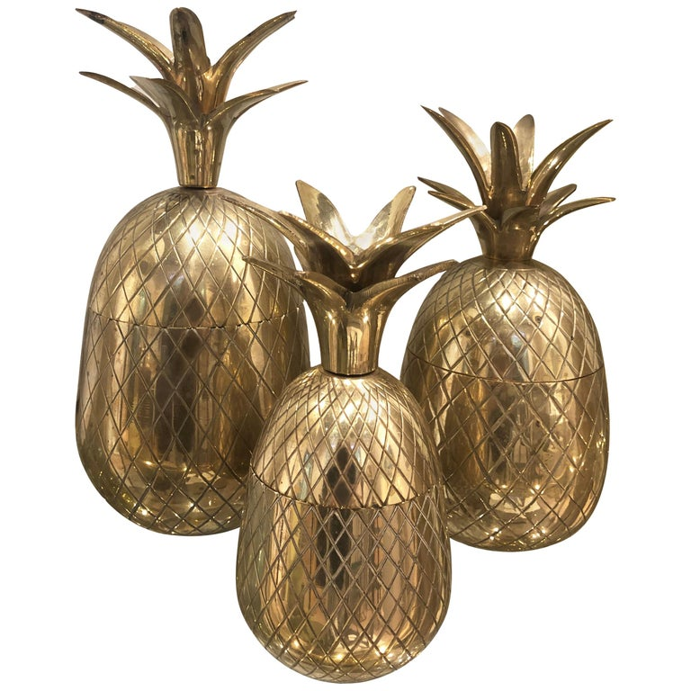 Vintage Brass Pineapples For Sale