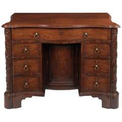 Rare and Important George II Commode Dressing Table, circa 1760