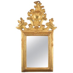 Ornamental Mirror Frame, Giltwood, 18th Century