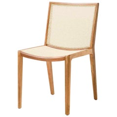 Solid Wood Chair, Modern Brazilian Design