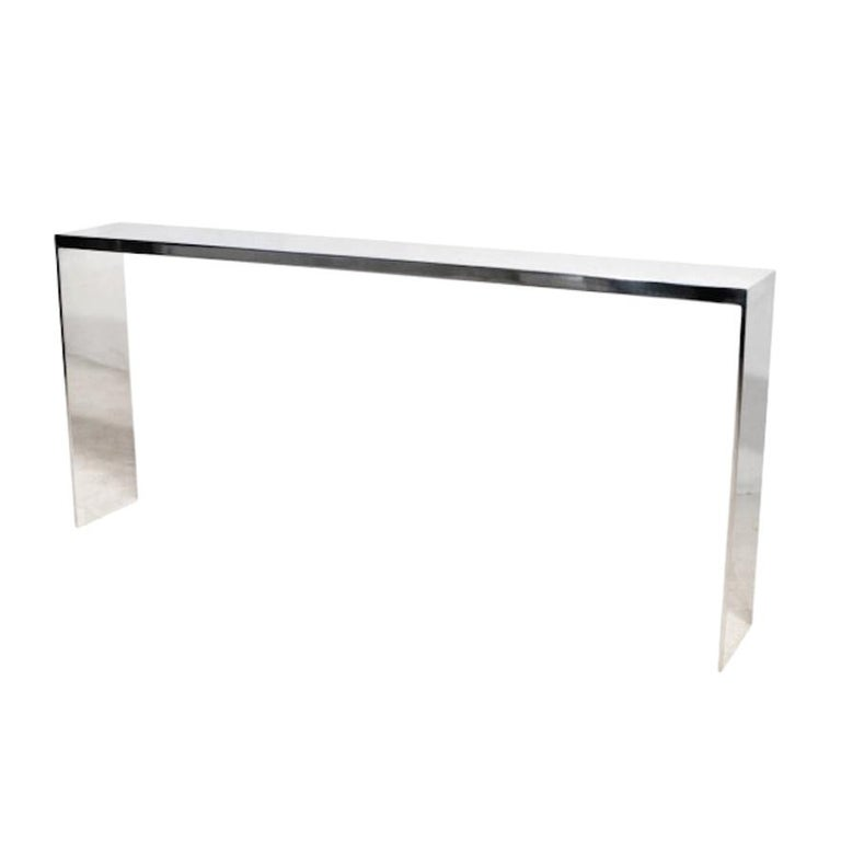 "Eric Slayton ""Cast"" Aluminium Console Table, 2015 For Sale"