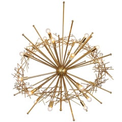 """Pulsar Star"" Custom Made Chandelier"