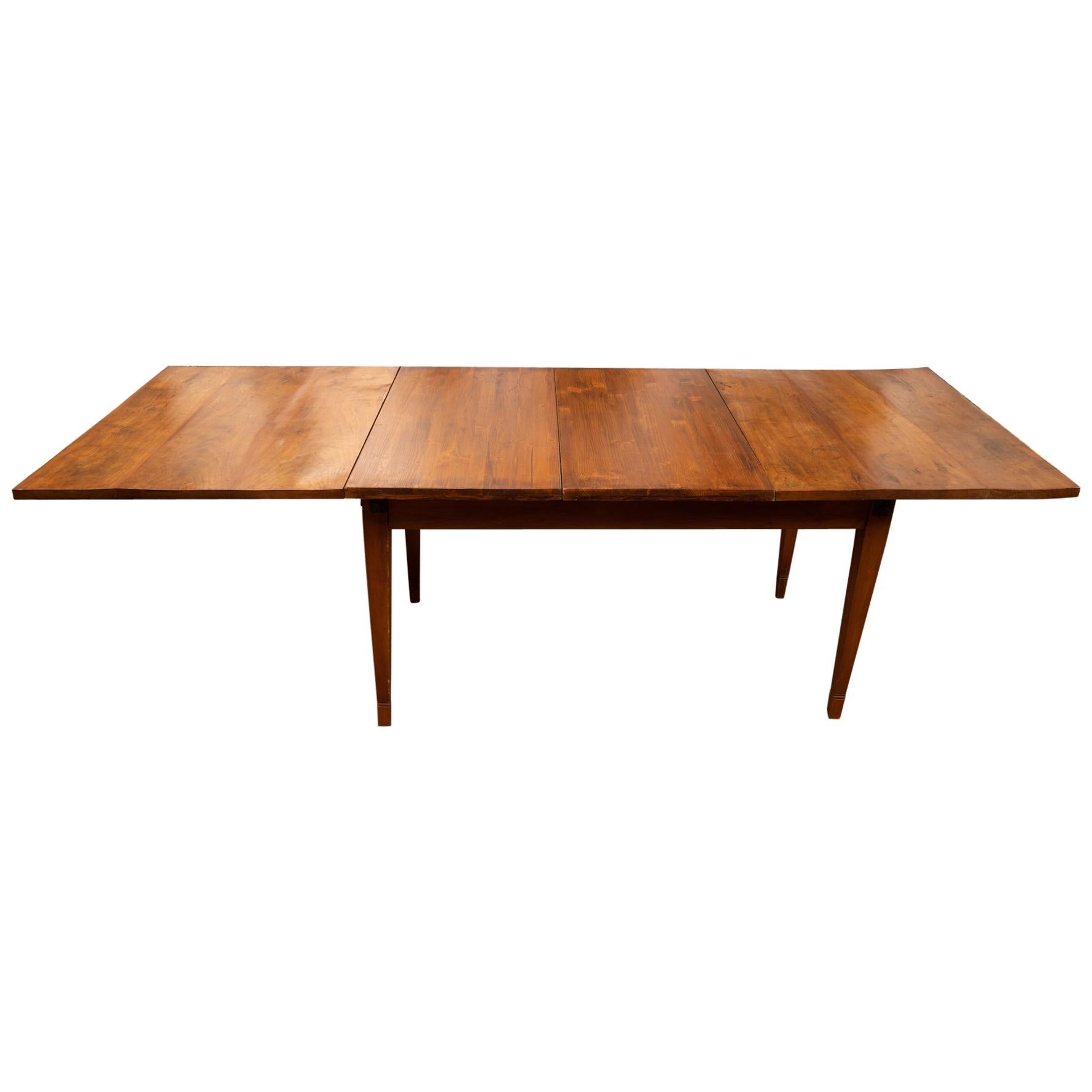 Early 19th Century Walnut Directoire Dining Table