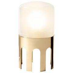 Tplg1 polished brass table lamp