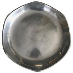 Monumental Nambe Aluminum Serving Platter