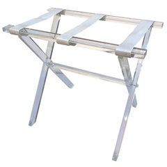 Vintage Hollywood Regency Lucite Tray Table or Luggage Rack