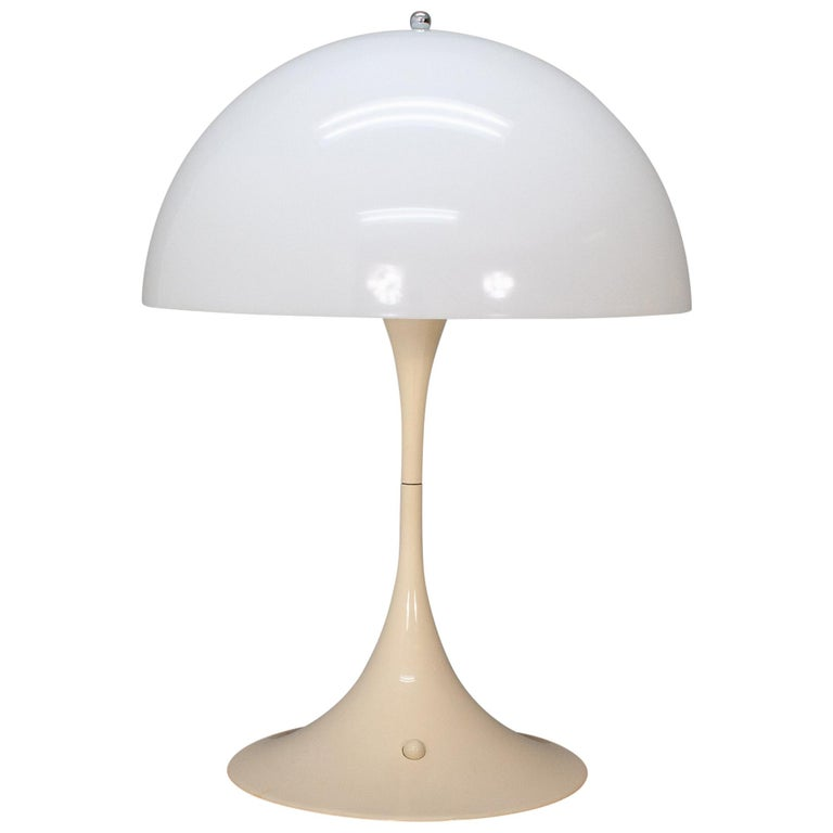 Verner Panton Louis Poulsen Large Mushroom Table Lamp