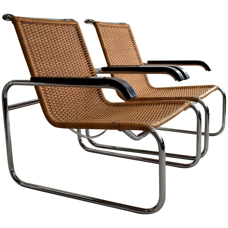 Marcel Breuer S35 Bauhaus Club Chair for Thonet For Sale