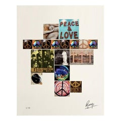 """Peace Rocks"" Signed Limited Edition Unframed Print by Ringo Starr"