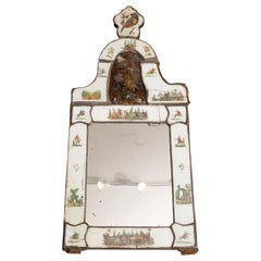Exceptional 19th Century Eglomise Venetian Mirror