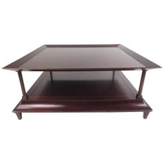 Two-Tier Vintage Coffee Table by Baker