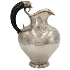 Vintage Silver Pitcher by Pasquale and Mariano Alignani, 1920-1940