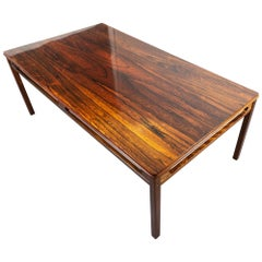 Midcentury Arne Halvorsen Rosewood Coffee Table by Rasmus Solberg, Norway 1960s