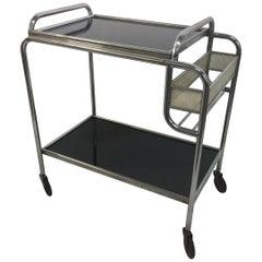 Mathieu Matégot Style Art Deco Bar Cart