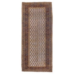 Antique Amritsar Gallery Carpet, circa 1920s, Mansion Length