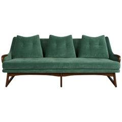 Komplett restauriertes modernes Sofa, Adrian Pearsall zugeschrieben, Mid-Century Modern