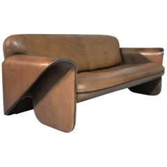 Vintage Swiss De Sede 'DS 125' Sofa Designed by Gerd Lange, 1978