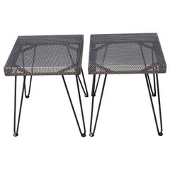 Studio Perforated End Tables