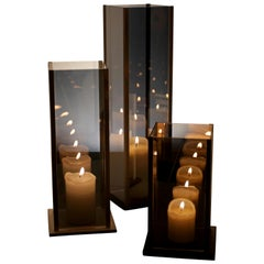 Arturo Erbsman Kaleido, Originales drei Kerzenhalter-Set