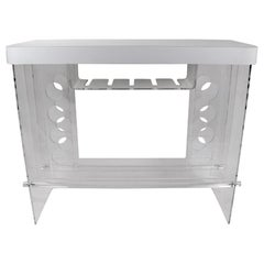 Lucite Theke Bar mit Formica Top