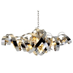 Jacco Maris Montone Oval 6-Light Chandelier in High Gloss - 1stdibs New York