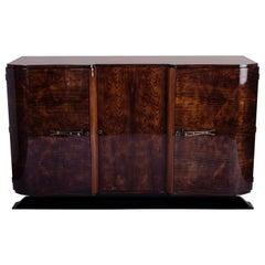 Art Deco Sideboard Credenza in Palisander