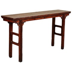 18th Century Ming Style Altar Table