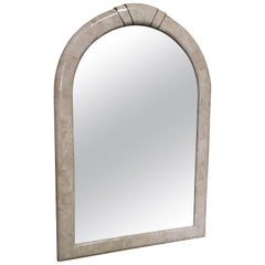 Tessellated Stone Framed Mirror