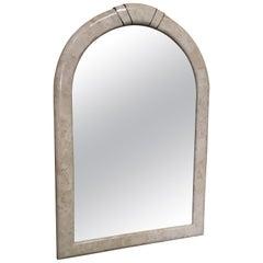 Tessellated Stone Framed Mirror