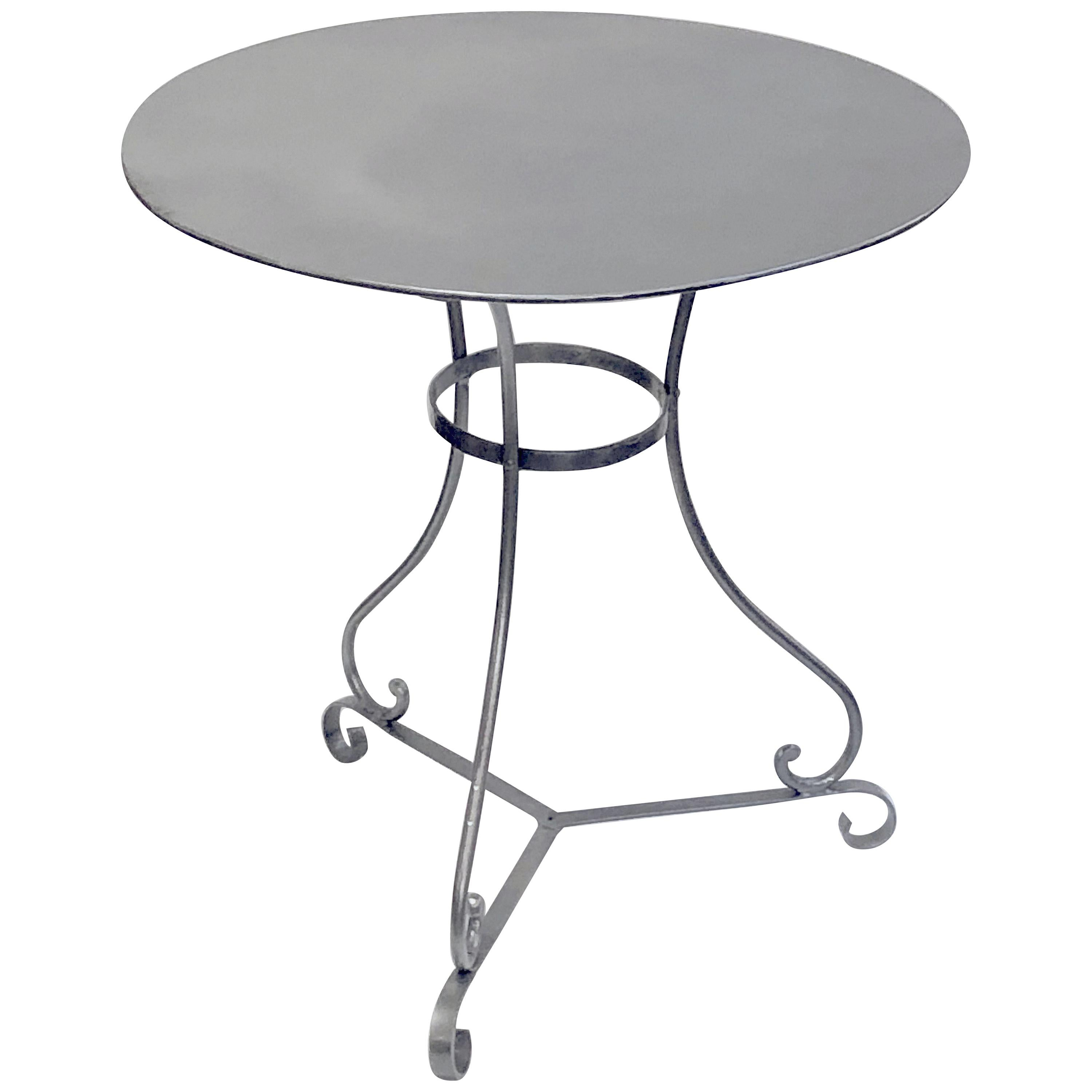 French Round Café or Bistro Pub Table