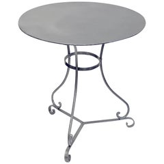 French Round Café or Bistro Table