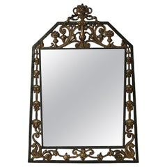 1920s Arts & Crafts Parlour Mirror by Oscar Bach