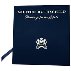 """Mouton Rothschild Paintings for the Labels 1945-1981"" First Edition Book"