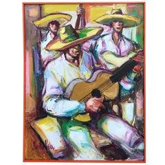 Painting by Alberto Ruiz Vela