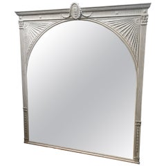 Stunning Mid-19th Century Adam Style Mirror of Great Proportions